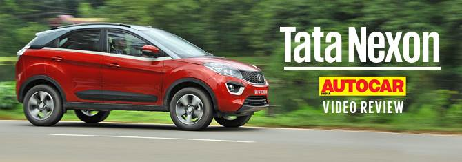 2017 Tata Nexon petrol video review