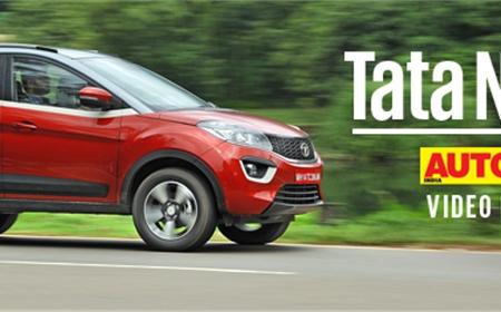 2017 Tata Nexon petrol video review