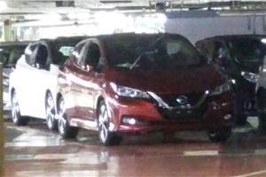 2018 Nissan Leaf images leaked on internet
