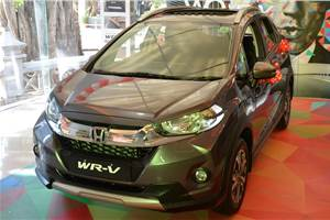 WR-V replaces City as Honda's bestseller in July