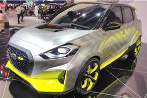 Datsun GO Live concept showcased in Indonesia