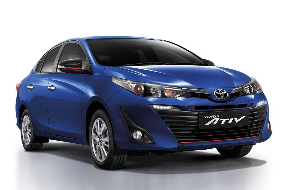 2018 Toyota Yaris Ativ Sedan Revealed Autocar India