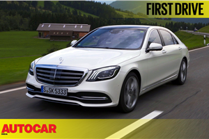 2017 Mercedes S-Class facelift video review