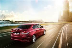 2017 Maruti Ciaz S launched at Rs 9.39 lakh