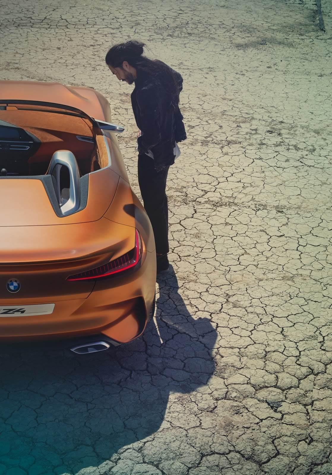 Bmw Concept Z4 Revealed Autocar India