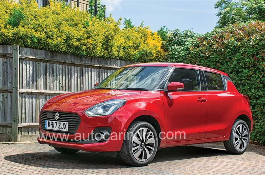 The new Swift is actually 10mm shorter but its longer whe...