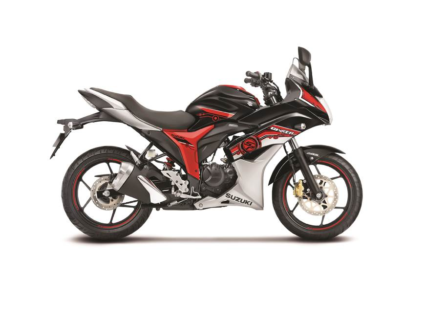 2017 Suzuki Gixxer SP, Gixxer SF SP launched