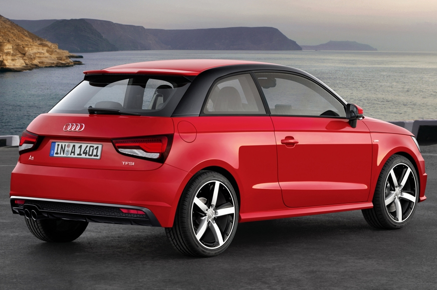 2018 audi a1 aims for rival mini autocar india. Black Bedroom Furniture Sets. Home Design Ideas
