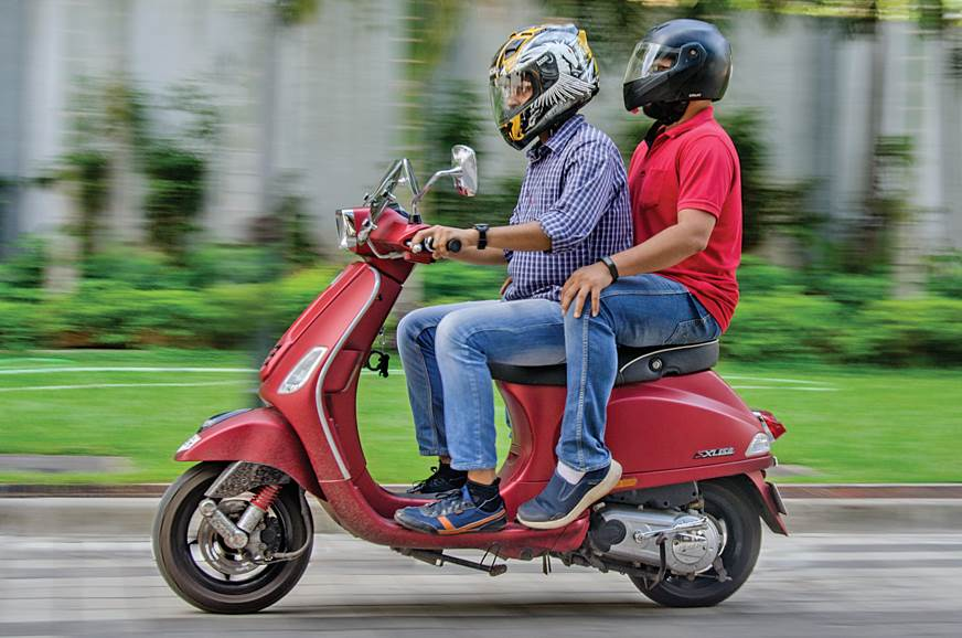 2016 Vespa SXL 150 long term review, third report