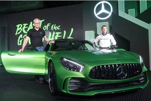 2017 Mercedes-AMG GT R, GT Roadster launched in India