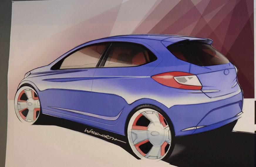 Tata hatchback sketch. (Image used for representation).