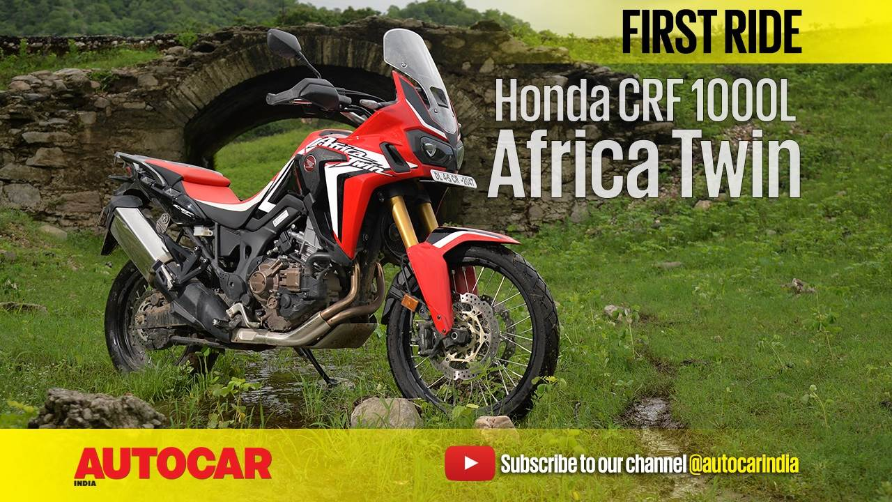 2017 Honda Africa Twin video review