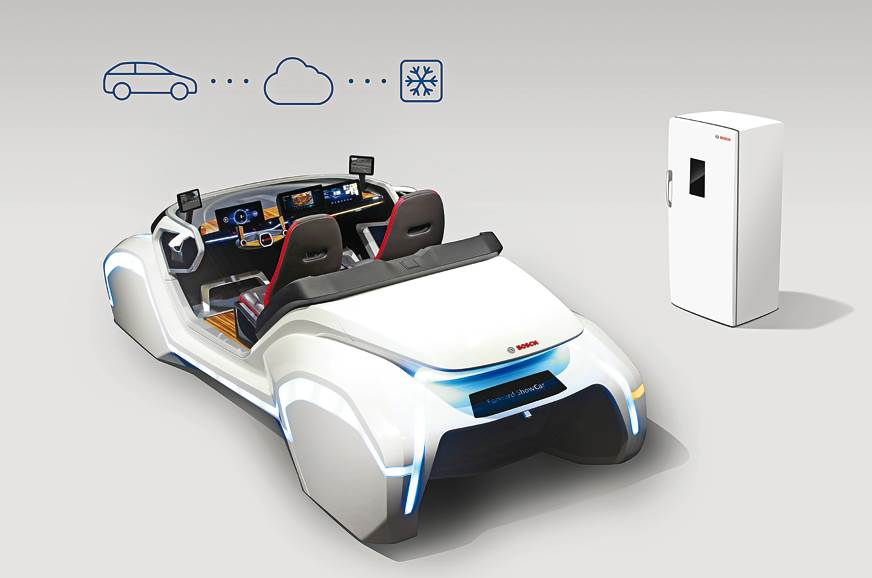 Bosch's future of mobility includes the car telling you w...