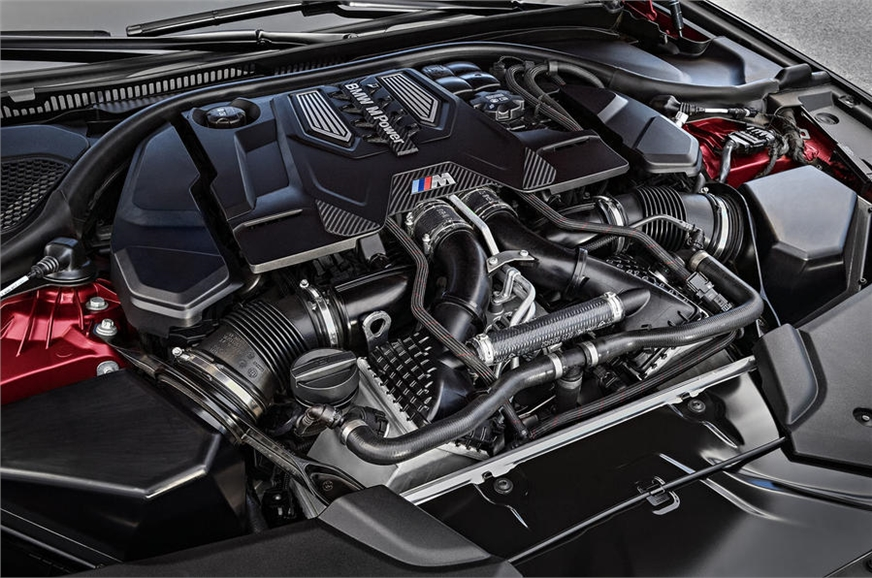 Twin-turbo 4.4-litre V8 engine makes 600hp and 750Nm