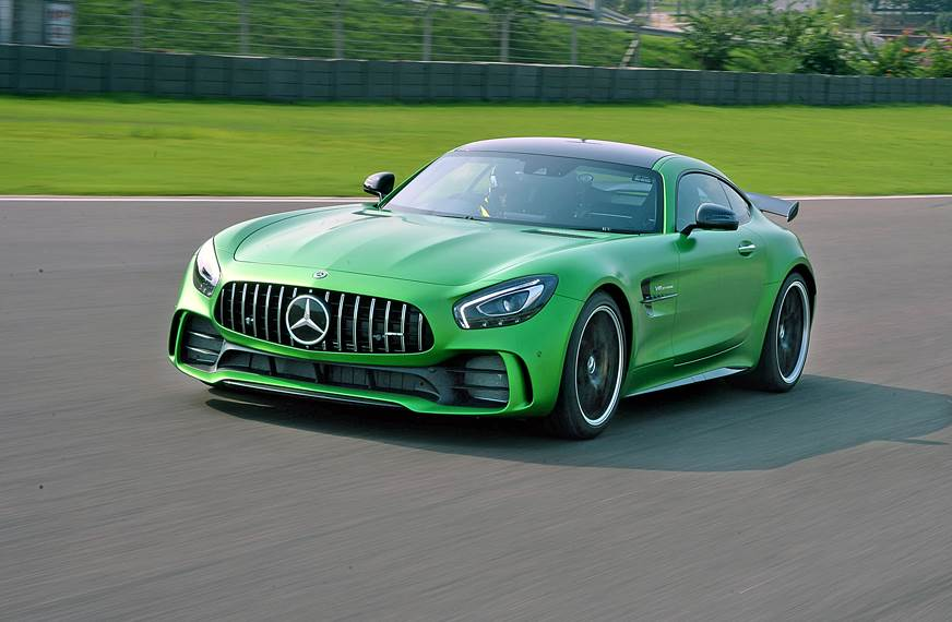 2017 Mercedes-AMG GT R India review, test drive