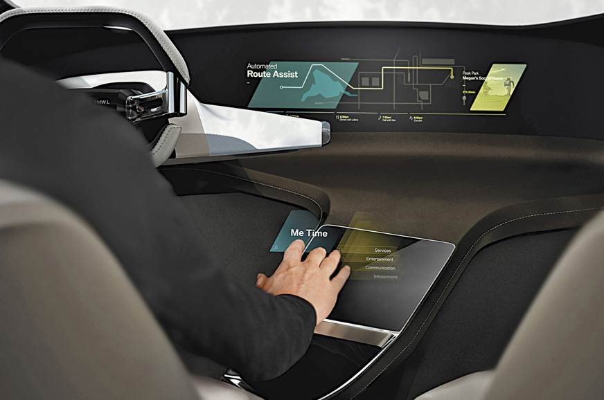 HoloActive by BMW uses holographic projection to create a...