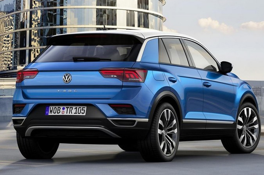 2017 volkswagen t roc suv unveiled autocar india. Black Bedroom Furniture Sets. Home Design Ideas