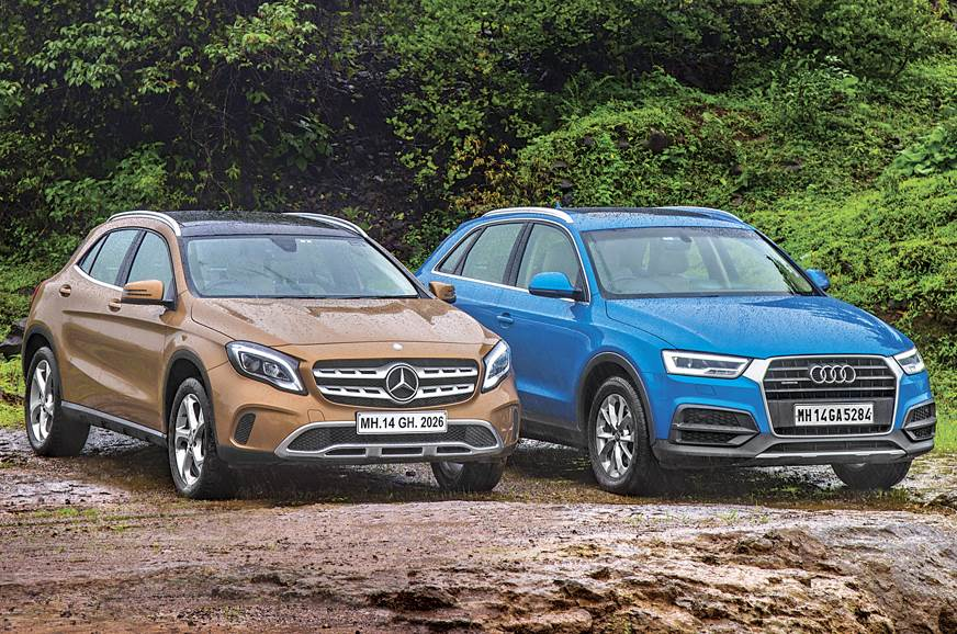 2017 Mercedes-Benz GLA 220d vs Audi Q3 35TDI comparison