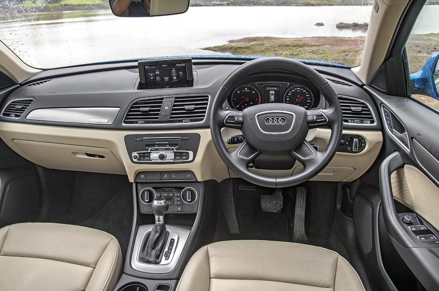 Simple layout with typical 'Audi' bits plucked from bigge...