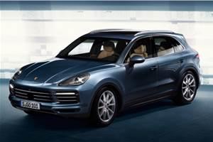 Next-gen Porsche Cayenne leaked