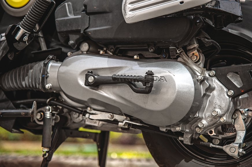 Being lighter than the Activa, it manages to be quicker i...