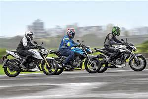 2017 Bajaj Pulsar NS200 vs TVS Apache RTR 200 vs Yamaha FZ25