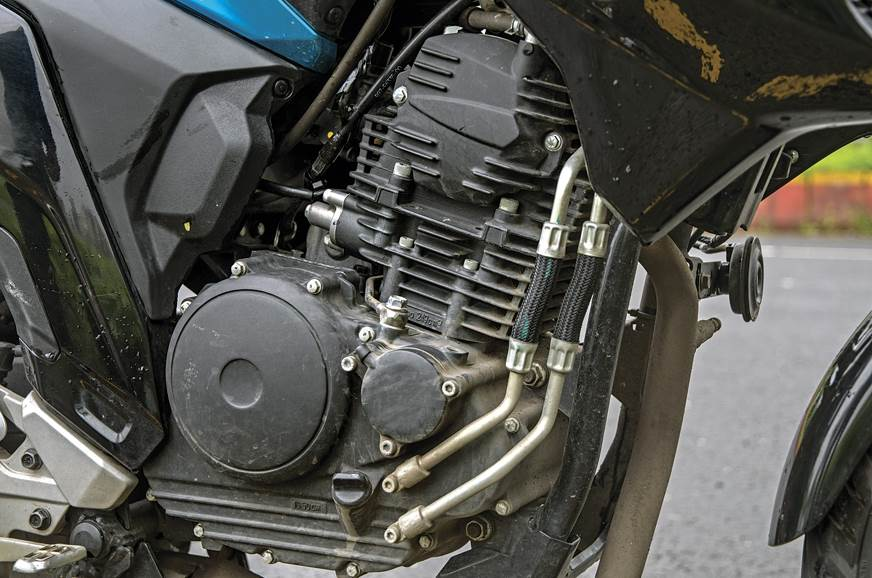 FZ's motor has highest capacity, but relaxed tune.