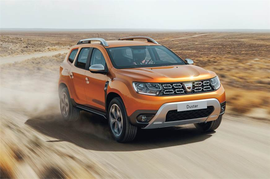 all new renault dacia duster suv revealed may come to india in future autocar india. Black Bedroom Furniture Sets. Home Design Ideas