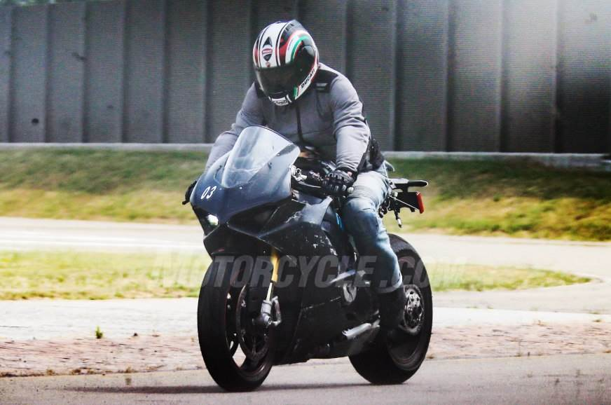 Video of upcoming Ducati V4 testing revealed