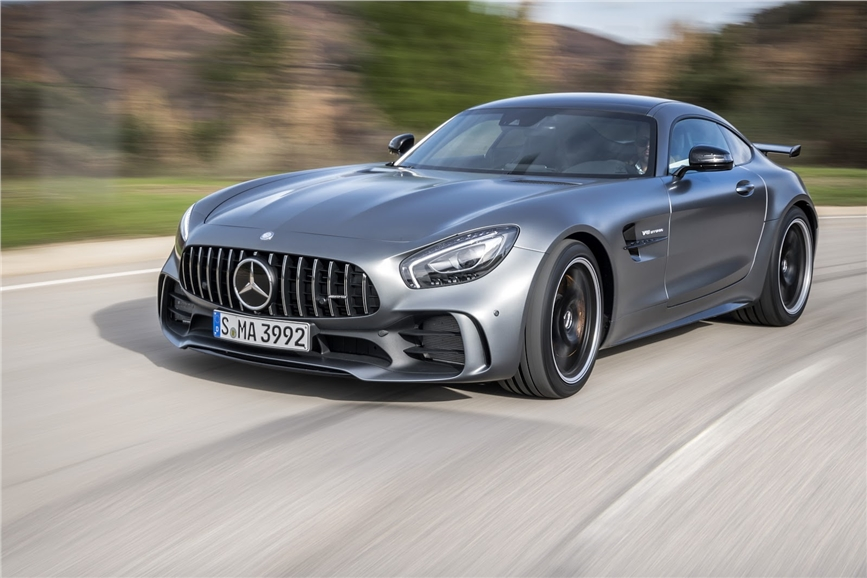 Mercedes-AMG GT Black series takes shape - Autocar India