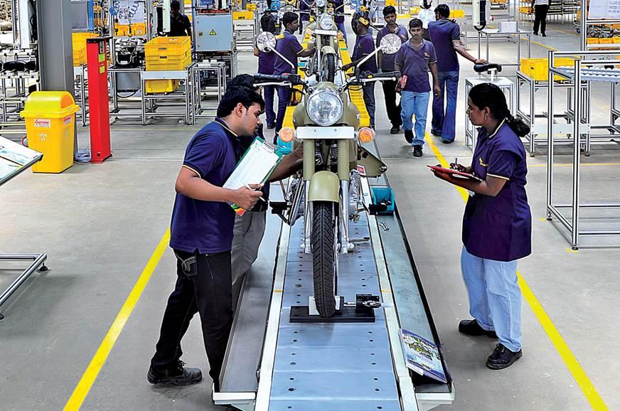 Royal Enfield begins production at new Chennai plant