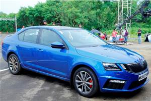 2017 Skoda Octavia RS launched at Rs 24.62 lakh
