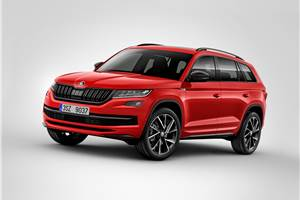 Skoda Kodiaq RS in the works