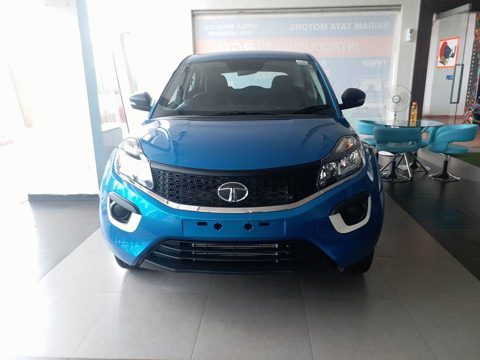 Tata Nexon XM, XE and XT seen at a dealership, expected price, tentative equipment list revealed ...