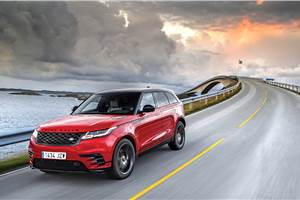 2017 Range Rover Velar review, test drive