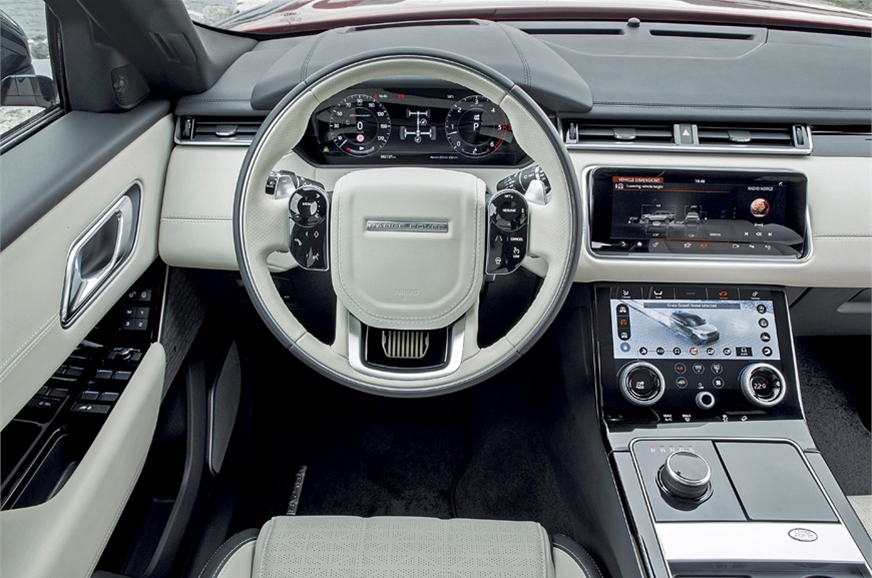 2017 range rover velar review expected price launch date interior and features autocar india. Black Bedroom Furniture Sets. Home Design Ideas