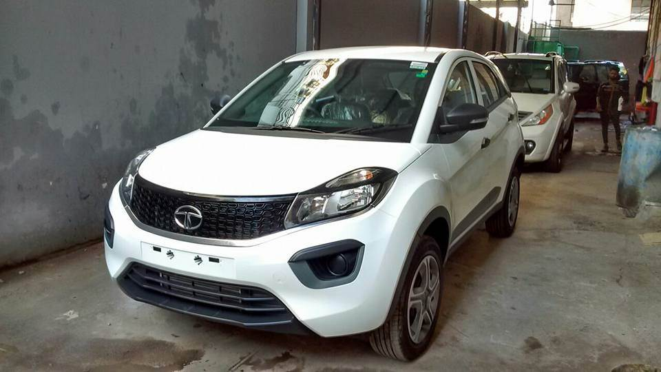 Tata Nexon Xm Xe And Xt Seen At A Dealership Expected Price Tentative Equipment List Revealed