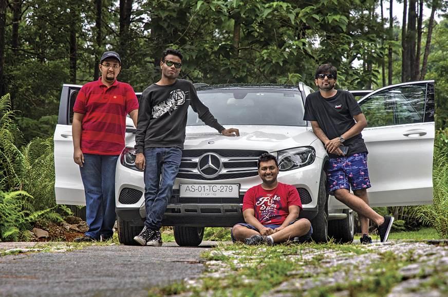 Jeet, Vaibhav, Aaditya and Murali with the GLC that took ...