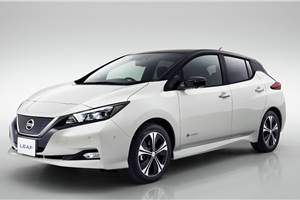 New Nissan Leaf EV revealed