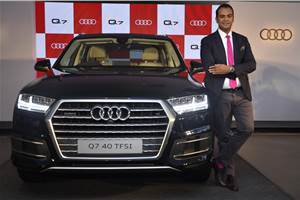 2017 Audi Q7 40 TFSI launched at Rs 67.76 lakh