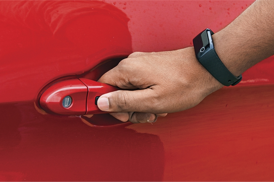 Activity Key wristband frees you from the need to carry t...