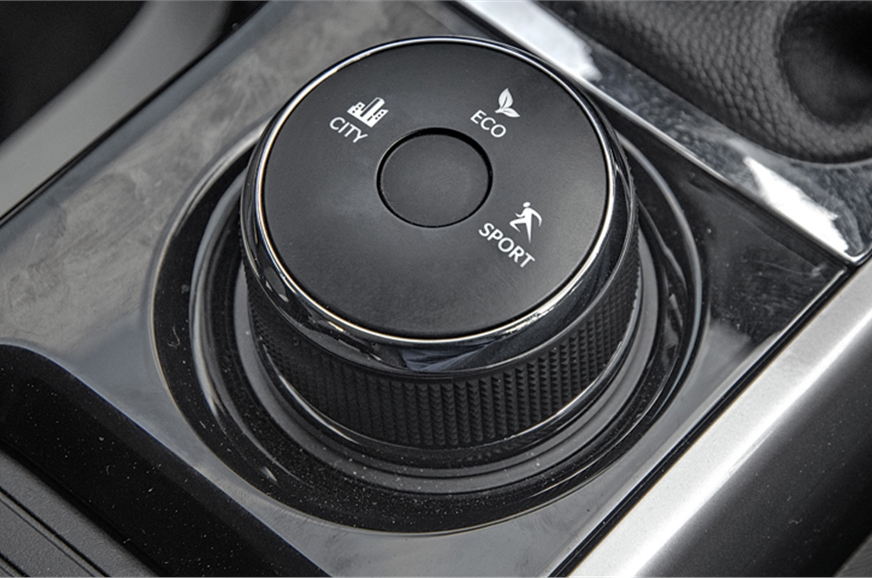 Large drive mode selector is from the Hexa. Given its lim...