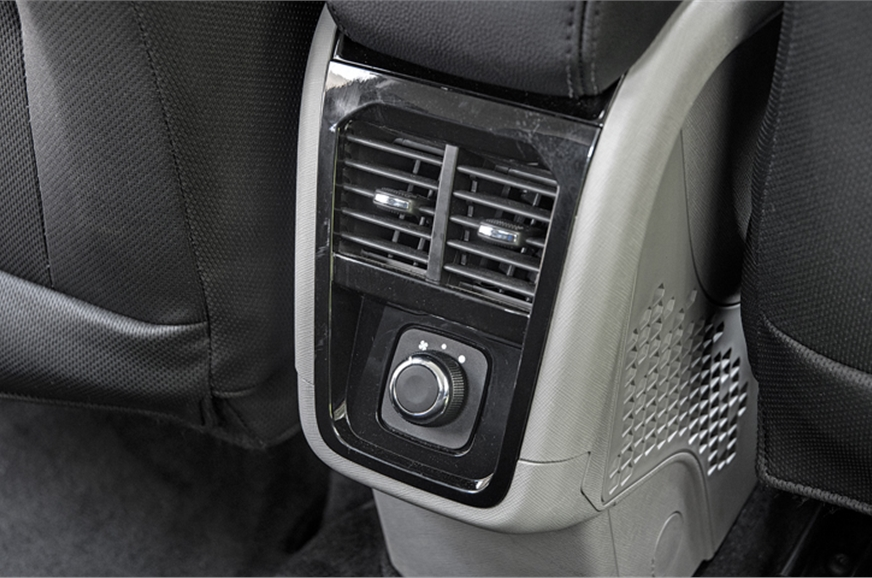 Rear air con is a first-in-class feature. There are two s...
