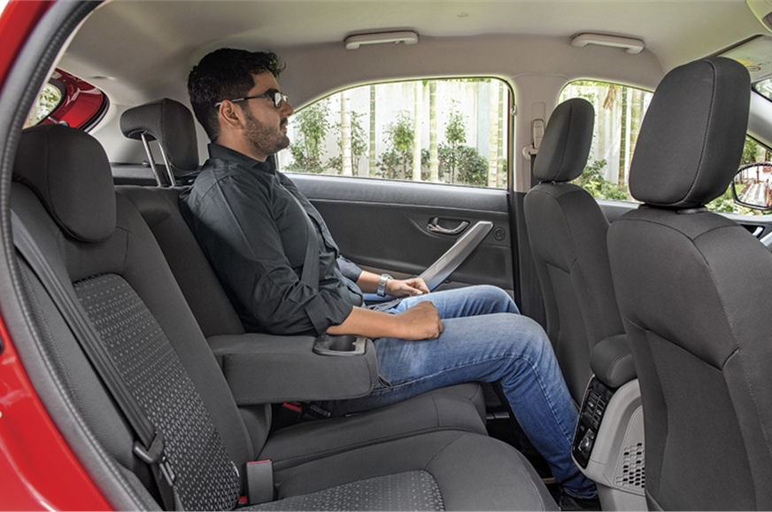 Smartly contoured rear seats are very supportive. Space i...