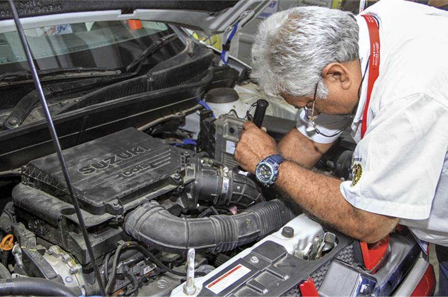 Scrutineers do a deep-dive under the hood to ensure all r...