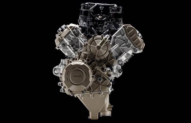 Ducati unveils new road-going V4 engine