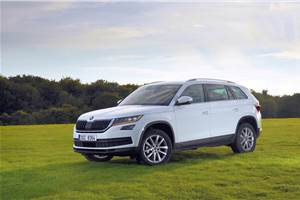 Skoda Kodiaq India launch on October 4