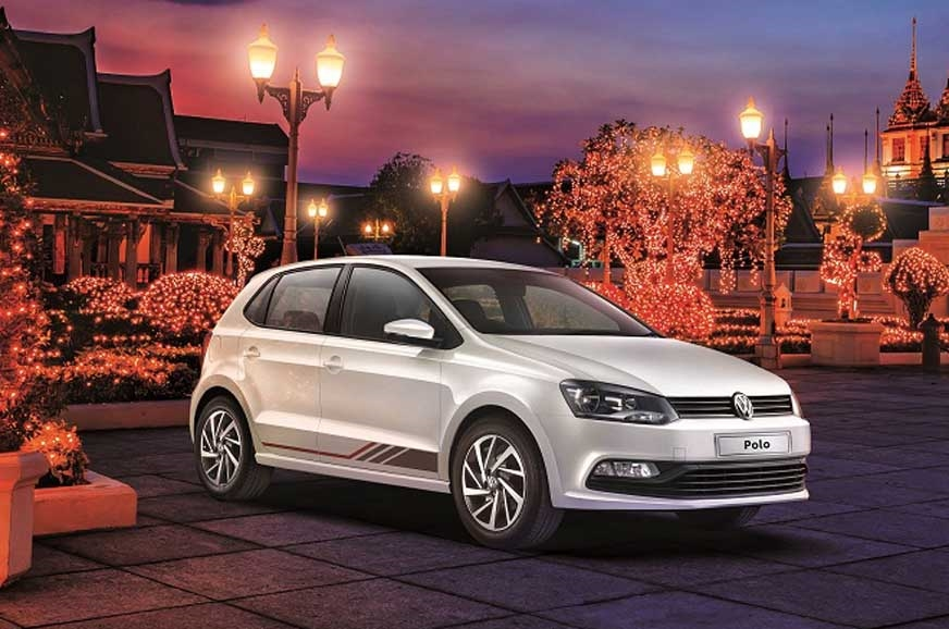 volkswagen polo ameo anniversary editions launched. Black Bedroom Furniture Sets. Home Design Ideas