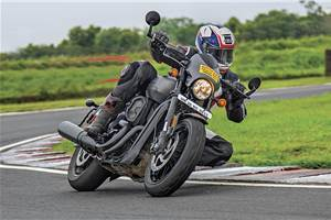 2017 Harley-Davidson Street Rod review, track ride