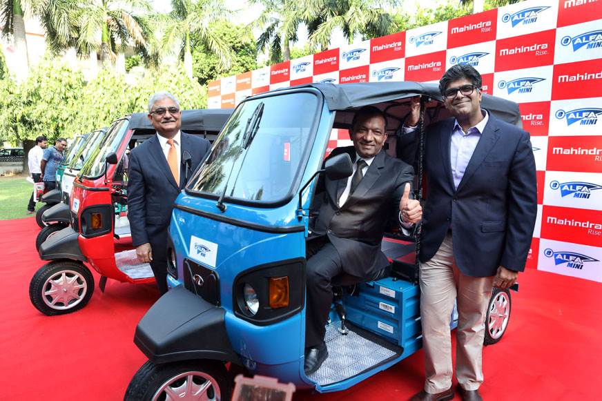 Mahindra launches new electric three-wheeler